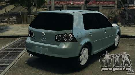 Volkswagen Golf Sportline 2011 für GTA 4 hinten links Ansicht