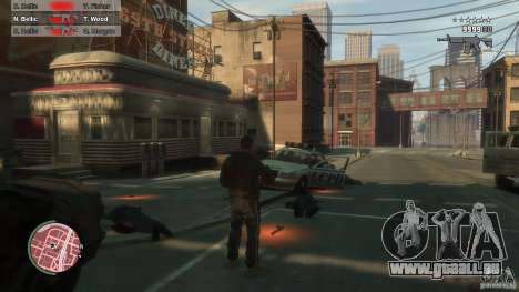 First Person Shooter Mod für GTA 4 achten Screenshot