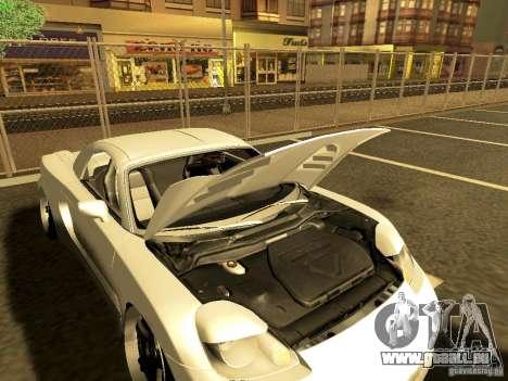 Toyota MR-S pour GTA San Andreas sur la vue arrière gauche
