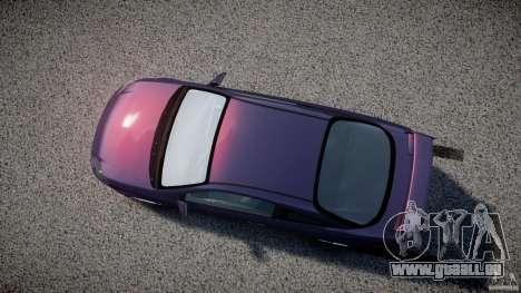 Chevrolet Cobalt SS pour GTA 4 est une vue de l'intérieur