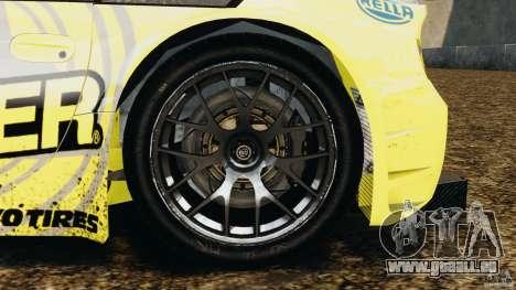 BMW Z4 M Coupe Motorsport pour GTA 4 Vue arrière