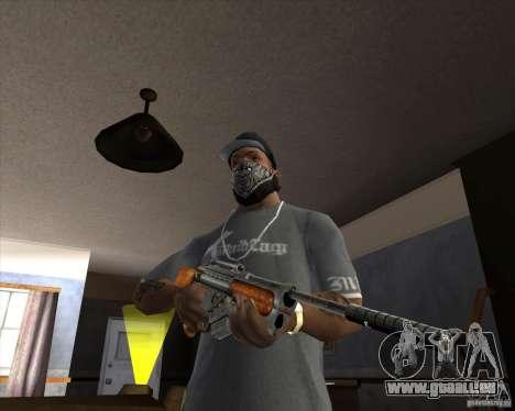RAPTOR Sniper Rifle from Serious Sam für GTA San Andreas zweiten Screenshot