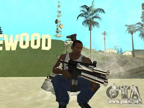 Weapons Pack für GTA San Andreas dritten Screenshot