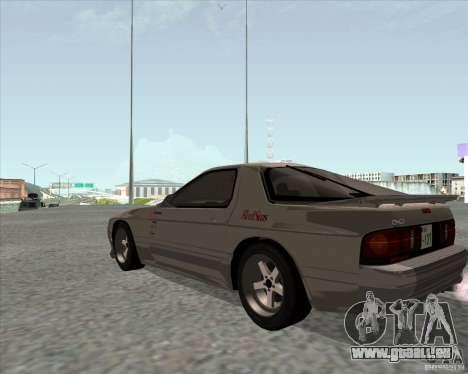 Mazda Savanna RX-7 FC3S pour GTA San Andreas laissé vue