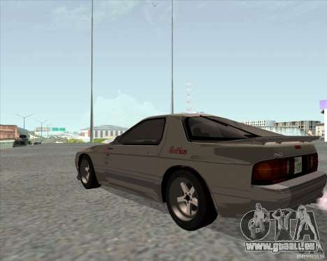 Mazda Savanna RX-7 FC3S für GTA San Andreas linke Ansicht