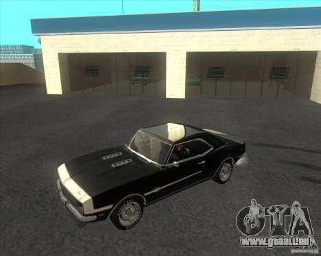 Chevrolet Camaro RSSS 396 1968 (fixed) pour GTA San Andreas