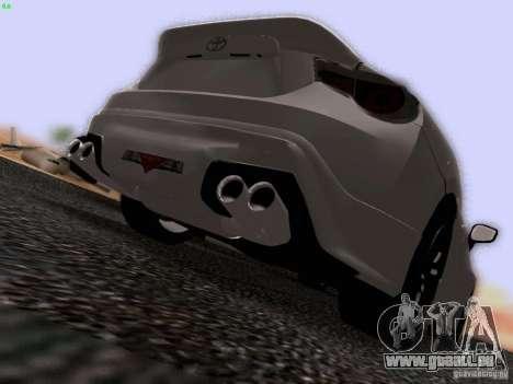 Toyota 86 TRDPerformanceLine 2012 für GTA San Andreas Seitenansicht
