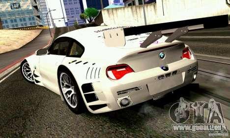 BMW Z4 E85 M GT 2008 V1.0 für GTA San Andreas linke Ansicht