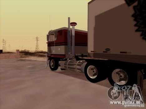 Kenworth K100 für GTA San Andreas zurück linke Ansicht