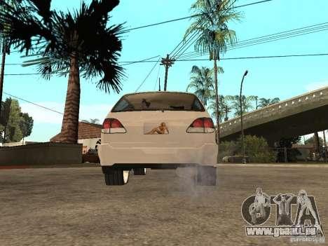Lexus RX 300 pour GTA San Andreas laissé vue