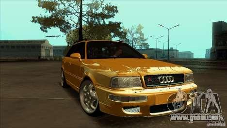 Audi RS2 Avant 1995 für GTA San Andreas Rückansicht