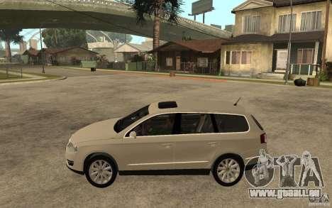 Volkswagen Passat Variant 2010 für GTA San Andreas linke Ansicht