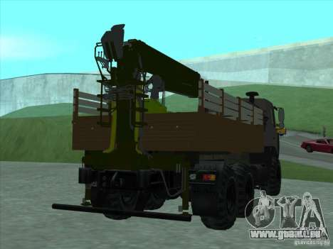 6317 MAZ manipulator für GTA San Andreas rechten Ansicht