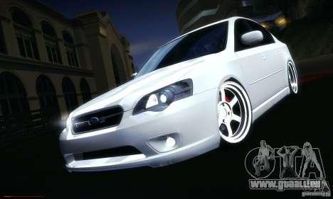 Subaru Legacy BIT edition 2004 pour GTA San Andreas salon