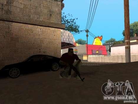 AK-47 HD für GTA San Andreas zweiten Screenshot