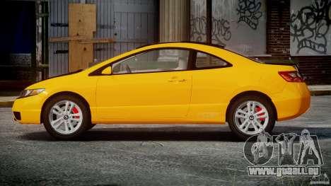 Honda Civic Si Coupe 2006 v1.0 für GTA 4 Seitenansicht