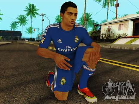 Cristiano Ronaldo v2 pour GTA San Andreas cinquième écran