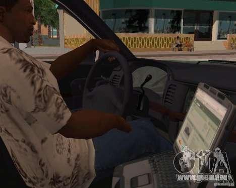 Chevrolet Impala 2003 VCPD police für GTA San Andreas Rückansicht
