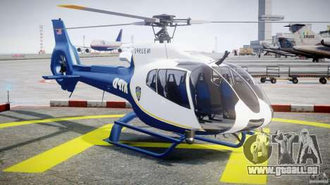 Eurocopter EC 130 NYPD für GTA 4 Rückansicht