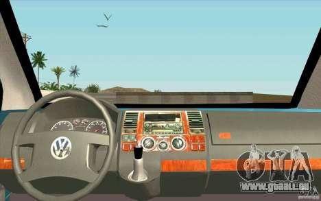 Volkswagen Caravelle pour GTA San Andreas vue de droite