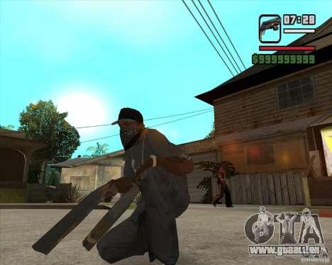 Hudra pour GTA San Andreas deuxième écran
