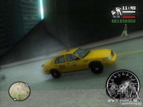 Pluie verglaçante pour GTA San Andreas deuxième écran