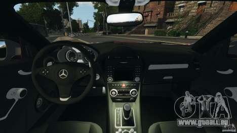 Mercedes-Benz SLK 55 AMG 2010 pour GTA 4 Vue arrière