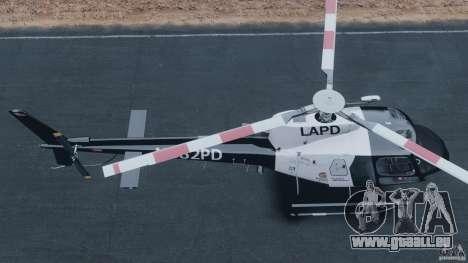 Eurocopter AS350 Ecureuil (Squirrel) für GTA 4 rechte Ansicht