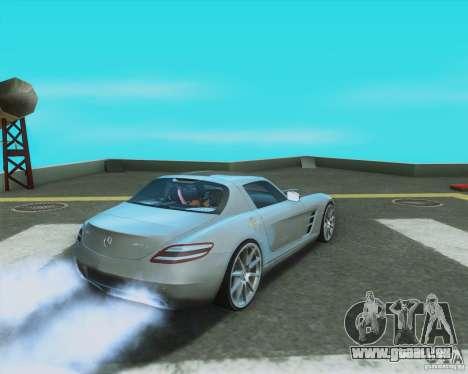 Mercedes-Benz SLS AMG 2010 v.1.0 pour GTA San Andreas laissé vue