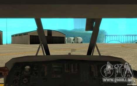 UH-80 pour GTA San Andreas vue de côté