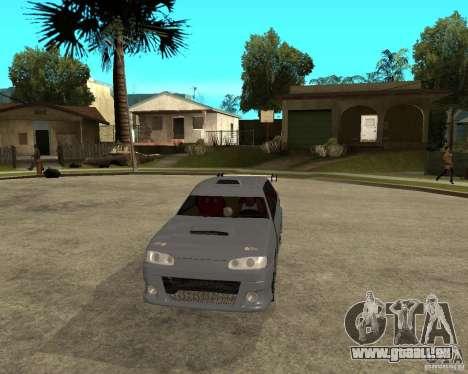 VAZ 2115 MCC für GTA San Andreas Rückansicht
