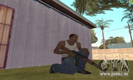 Kalashnikov modernisiert für GTA San Andreas zweiten Screenshot