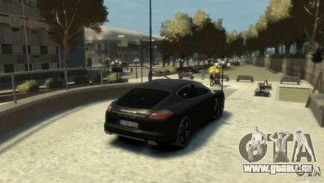 PORSCHE Panamera Turbo pour GTA 4 est un droit
