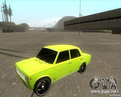 Version tuning de voiture VAZ 2101 pour GTA San Andreas