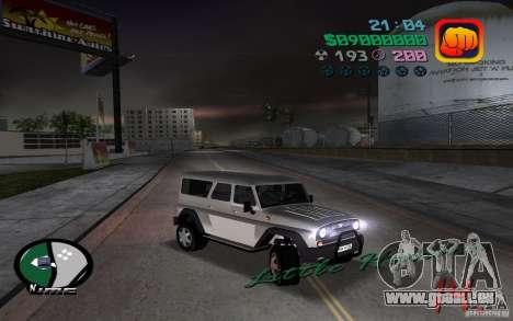 UAZ-3159 pour GTA Vice City