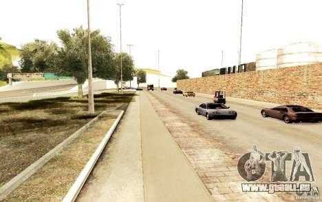 Un nouvel algorithme pour la circulation automob pour GTA San Andreas troisième écran