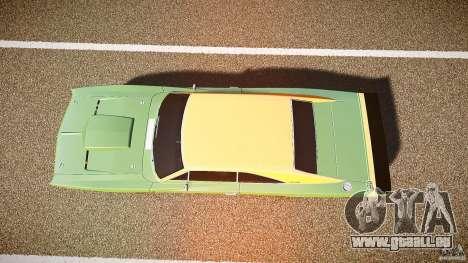 Dodge Charger RT 1969 tun v1.1 pour GTA 4 vue de dessus