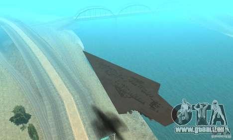 Executor Class Stardestroyer pour GTA San Andreas vue arrière