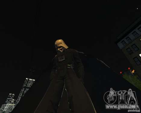 Dart Vader für GTA 4 Sekunden Bildschirm