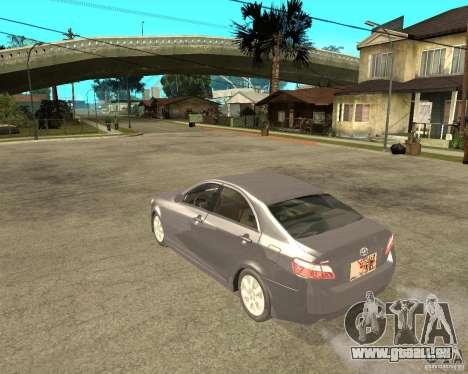 Toyota Camry XV40 2007 für GTA San Andreas linke Ansicht