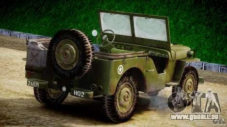 Jeep Willys [Final] für GTA 4 rechte Ansicht