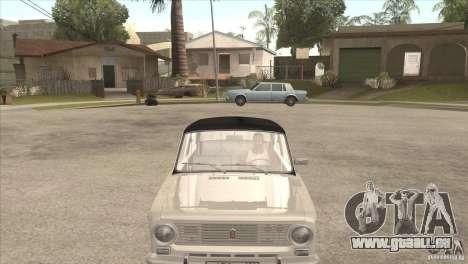 VAZ 2101 Dag für GTA San Andreas zurück linke Ansicht