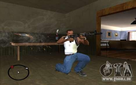 AKS-74 pour GTA San Andreas troisième écran