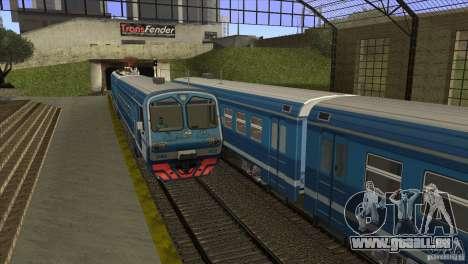 Un nouvel algorithme de train 5 pour GTA San Andreas