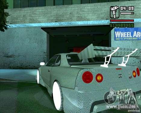 Nissan Skyline für GTA San Andreas rechten Ansicht