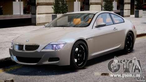 BMW M6 G-Power Hurricane pour GTA 4 est une gauche