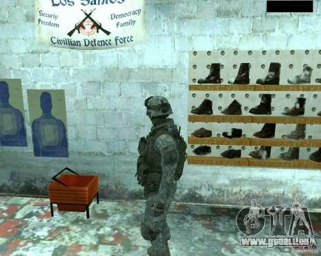 Haut Infanterist CoD MW 2 für GTA San Andreas her Screenshot