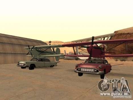 Voiture-avion pour GTA San Andreas vue de droite