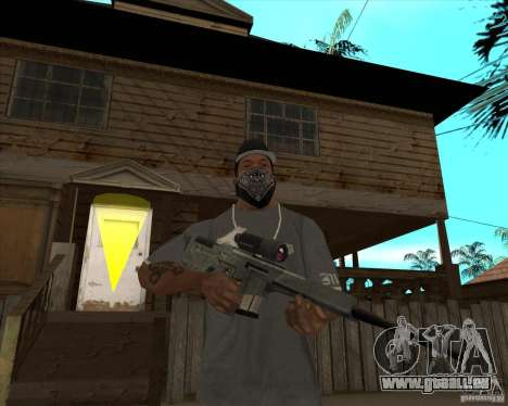 Resident Evil 4 weapon pack für GTA San Andreas siebten Screenshot