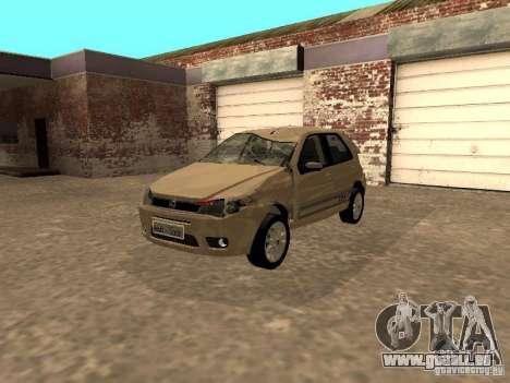Fiat Palio 1.8R für GTA San Andreas Innenansicht